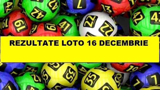 Loto 6 din 49 duminică, 16 decembrie 2018. Vezi numerele câștigătoare extrase