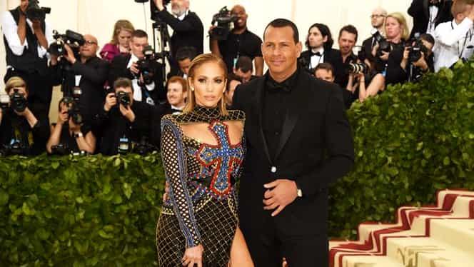 Jennifer Lopez s-a logodit cu Alex Rodriguez! Cum arată inelul cu diamant primit de J Lo