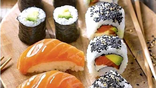 Rețeta zilei. Sushi făcut în bucătăria de acasă, o idee savuroasă