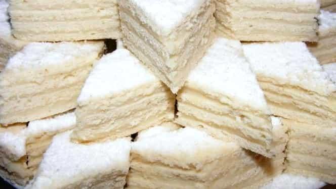 Prăjitura albă ca zăpada. Rețeta perfectă de Crăciun. În 15 minute deja te lingi pe degete