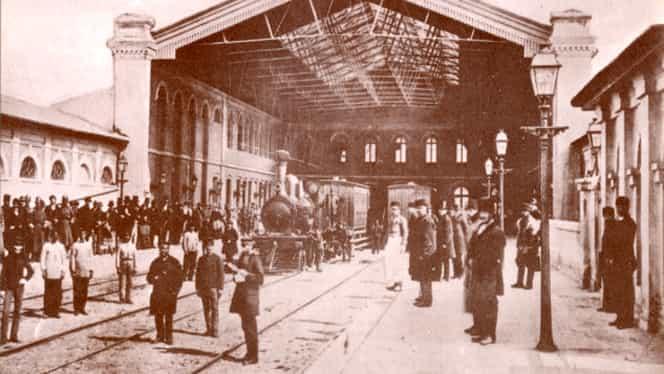 19 octombrie, semnificaţii istorice! Se inaugurează prima gară din Bucureşti