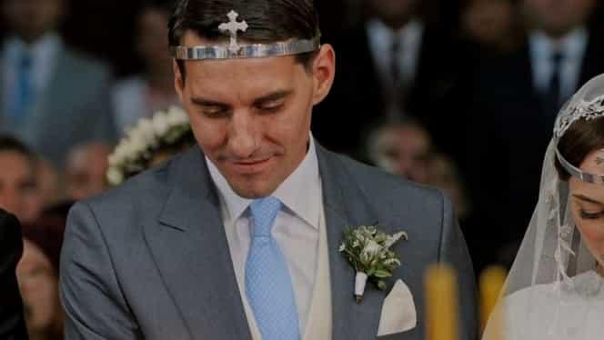 Imagini în premieră de la nunta nepotului Regelui Mihai. VIDEO