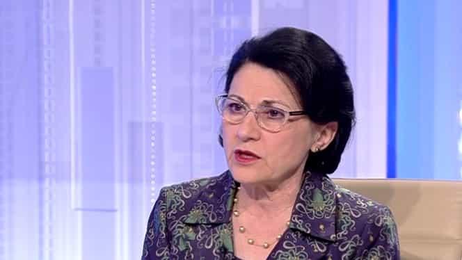 """""""Mă oripilează!"""" Ministrul Educației, Ecaterina Andronescu, scandalizată de declarațiile prodecanului de la Teologie"""