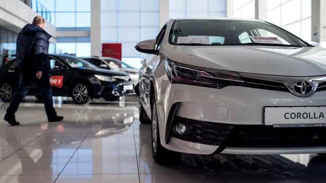 3,4 milioane de mașini produse de Toyota, rechemate în fabrică. Există riscul ca airbag-urile să nu se deschidă la impact