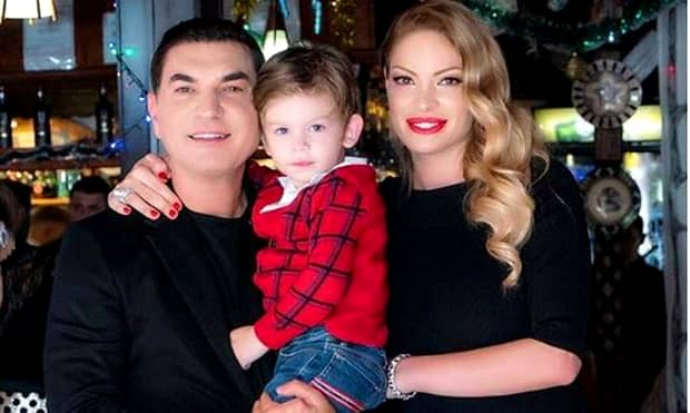 Valentina Pelinel, petrecere în cinstea gemenelor! Când va naște soția lui Cristi Borcea