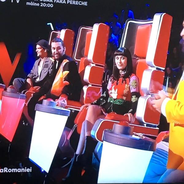 Irina Rimes a ales o rochie cu un mesaj puternic la Vocea României