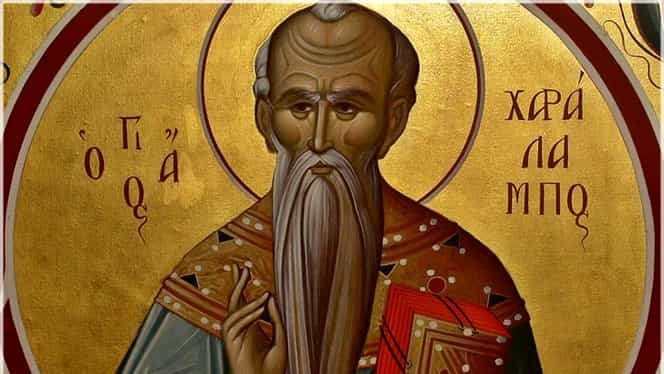 Cruce Roșie în Calendarul Ortodox. Pe 10 februarie se sărbătoresc Sfinții Haralambie, Enata și Valentina