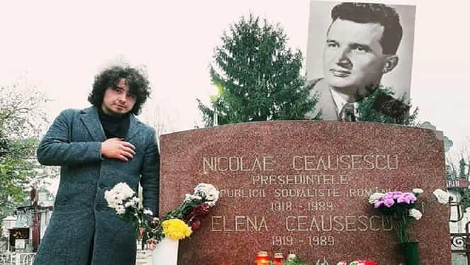 Nicolae și Elena Ceaușescu, regretați de un tânăr care nu a prins perioada comunistă. Le-a dedicat și un text