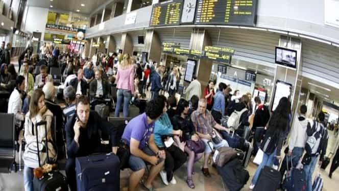 Trafic aerian blocat, la nivel mondial! Tarom are întârzieri la toate zborurile! Vezi programul zborurilor!