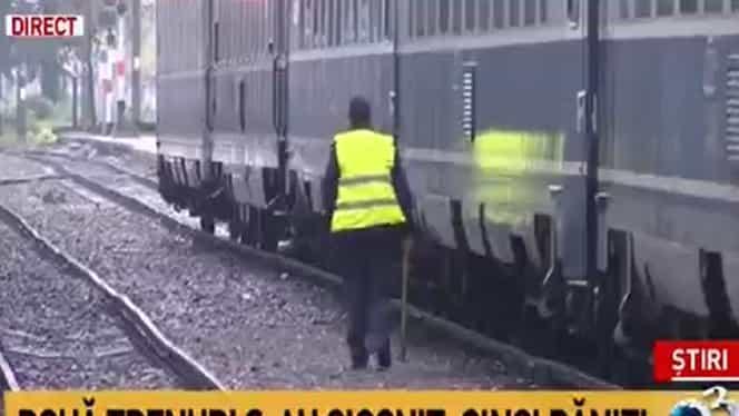 Două trenuri s-au ciocnit în România, în gara din Ploiești. Există 11 victime. Reacții de la directorul CFR Călători și Raed Arafat – UPDATE VIDEO