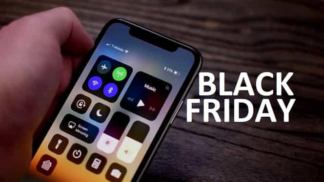 iPhone X cu cea mai mare reducere de Black Friday. Chiar e chilipir