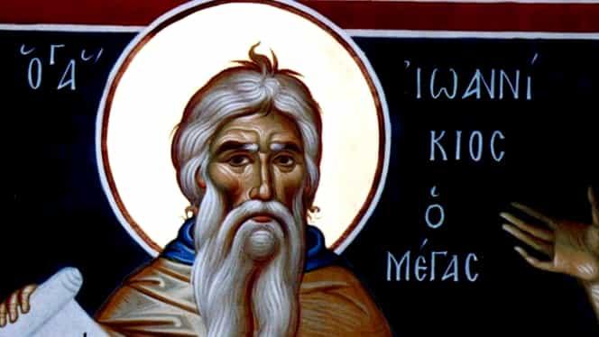 Calendar ortodox luni, 4 noiembrie: Este prăznuit Sfântul Ioanichie cel mare