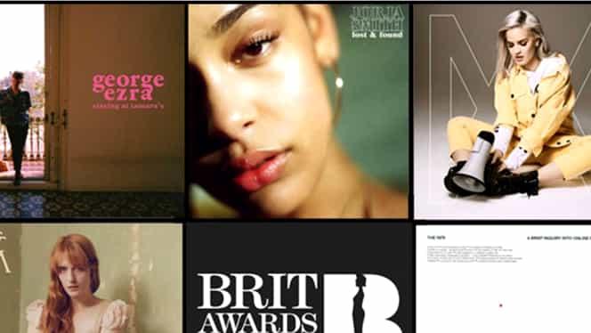 Nominalizări Brit Awards 2019. Lista completă a nominalizaților