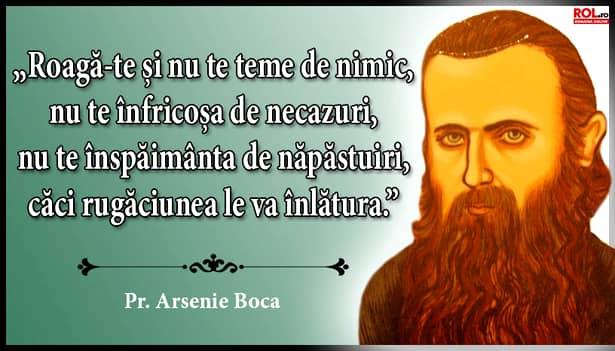 Arsenie Boca a fost un sfătuitor de suflet pentru mii de români, rugăciunile sale ajutându-i să găsească drumul spre Dumnezeu și curățirea de păcate