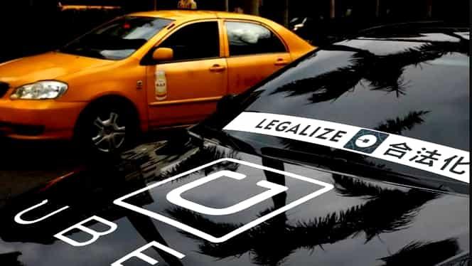 Guvernul, OUG care interzice UBER și Taxify! Ce prevede noua lege