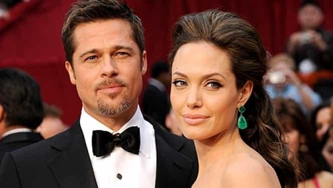 Angelina Jolie a cerut DIVORŢUL de Brad Pitt. Actriţa vrea custodia celor 6 COPII