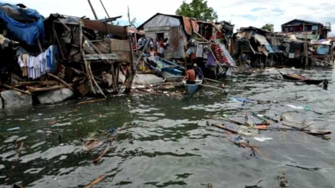 Tragedie în Filipine! Revelion în adăposturi de urgență