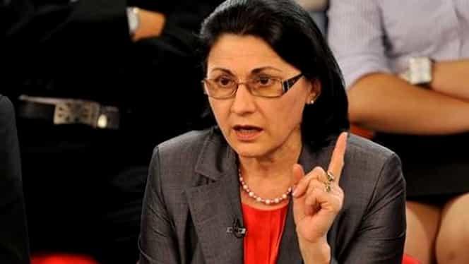 Ecaterina Andronescu vrea să renunțe la manualul unic. Nici nu a ajuns bine ministru al Educației și deja prevede o schimbare majoră