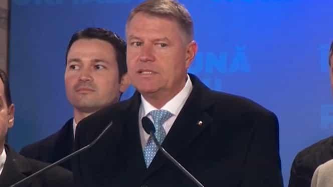 """Klaus Iohannis, reales președinte al României: """"Promit să fiu președintele tuturor românilor. Eu nu am un război cu alegătorii PSD"""""""