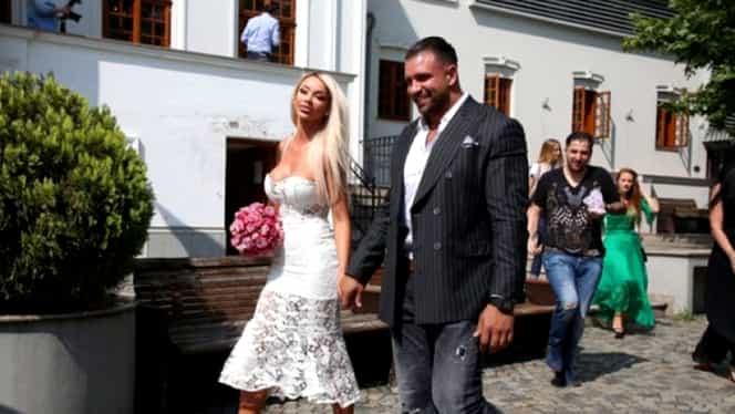 Bianca Drăgușanu a divorțat de soțul violent. Alex Bodi i-a fisurat o coastă și i-a băgat furculița în mână!
