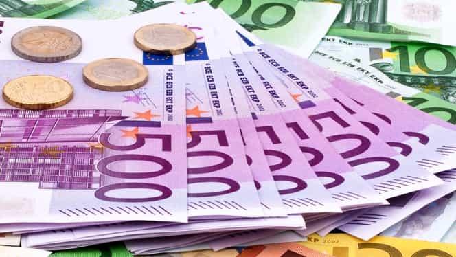 Leul, în cădere liberă! Moneda euro a fost cotată la 4,6279 lei!