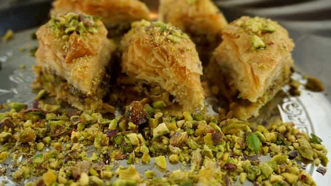 Rețeta zilei. Baclava turcească, un desert și pe gustul românilor