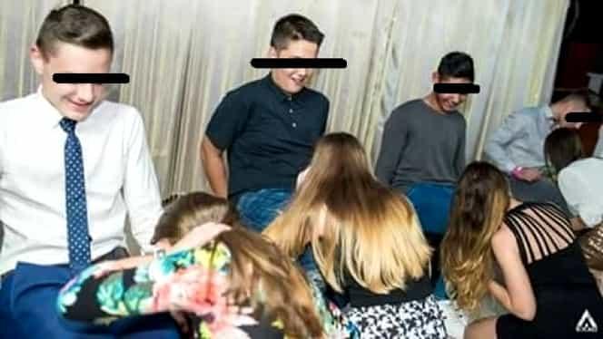 S-a declanşat ancheta la liceul din Cluj-Napoca, după ce elevele de 15 ani au mimat sexul oral la Balul Bobocilor! Primele declaraţii oficiale. GALERIE FOTO