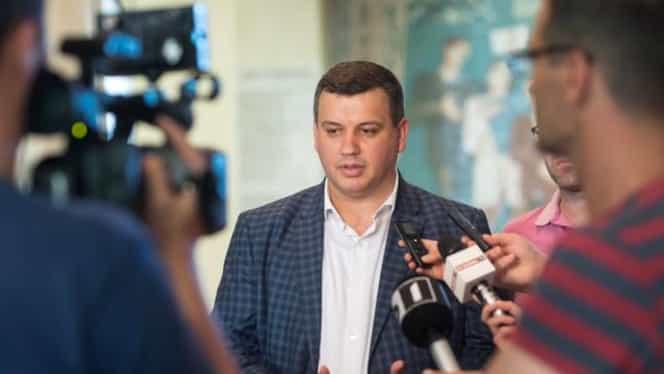"""Eugen Tomac, reacție după votul privind moțiunea: """"Victorie uriașă pentru Opoziție"""""""