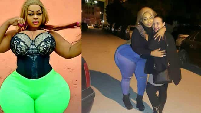 O frumuseţe africană se laudă cu un posterior…fabulos. Kim Kardashian riscă să fie detronată