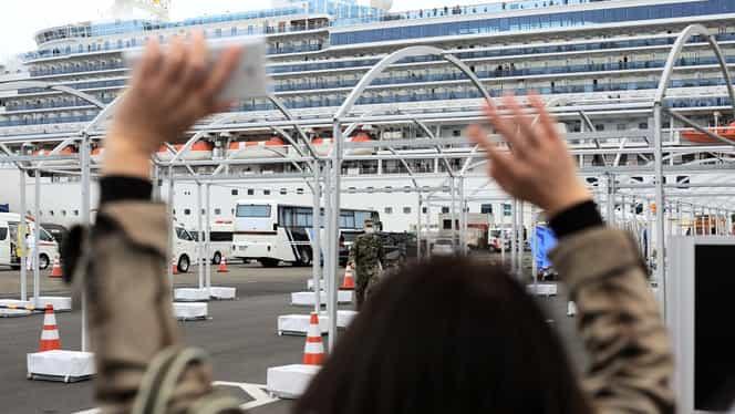 Pasagerii români de pe Diamond Princess, în carantină din cauza coronavirusului, vor părăsi nava pe 19 februarie