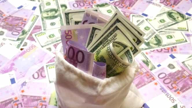 Leul a crescut faţă de euro. Cu cât s-a depreciat moneda europeană