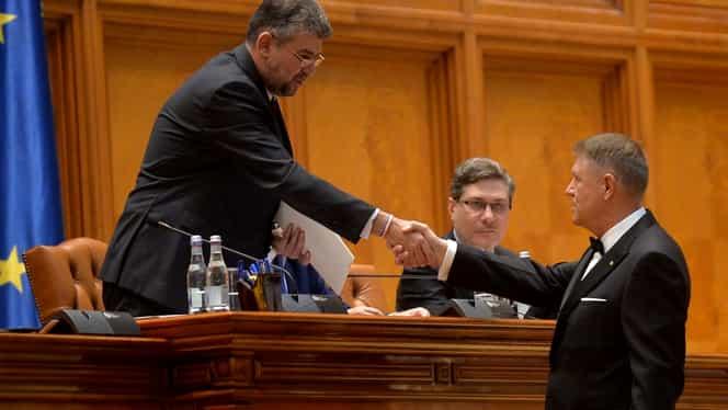 Marcel Ciolacu, liderul PSD, despre propunerea de premier: Este posibil ca PSD să nu meargă la votul pe învestirea unui nou guvern. Alegerile anticipate sunt o prostie
