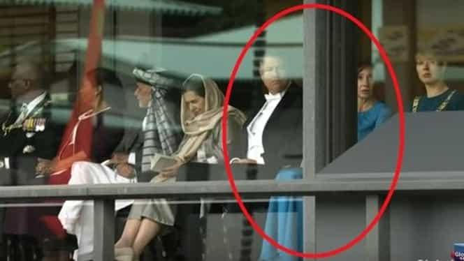 Cum s-a îmbrăcat Carmen Iohannis la întronarea lui Naruhito, împăratul Japoniei. Soţia preşedintelui a ales culoarea preferată
