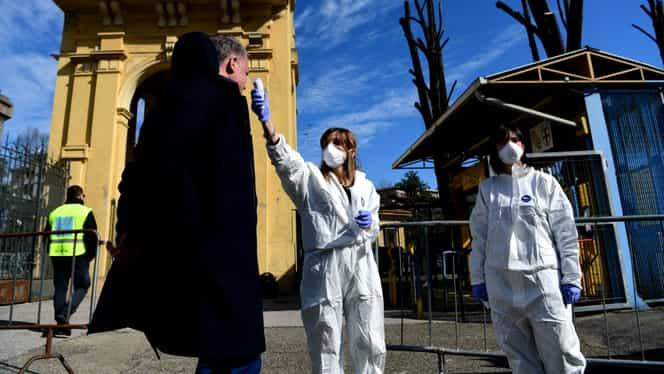 Bilanț negru în Italia, după decretarea stării de urgență din cauza coronavirus: Au murit 133 de oameni în 24 de ore