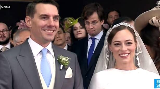 Principele Nicolae s-a căsătorit cu alina binder, iar acum, admiratorii cuplului se intreaba ce rochie a avut aceasta