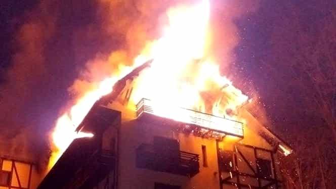 Incendiu puternic într-un hotel. Câte persoane au decedat!