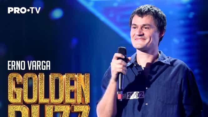 """Primul Golden Buzz din sezonul 10 al emisiunii Românii au talent! """"Un băiat care spală vase și cântă așa"""""""