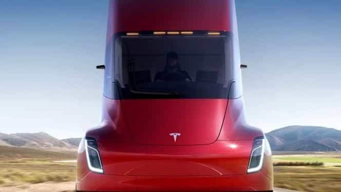 Tesla a lansat primul camion electric! Accelerează până la 100 de km în doar 5 secunde!