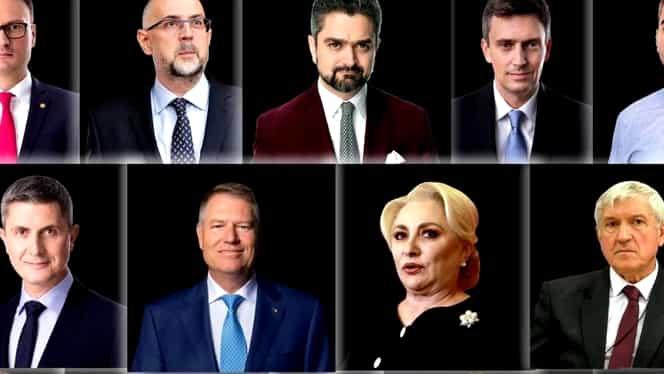 Unde votează Klaus Iohannis, Viorica Dăncilă, Dan Barna și Mircea Diaconu. Orele la care se vor prezenta la urne