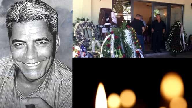 Ce s-a întâmplat la înmormântarea lui Marcel Toader. Durere fără margini. Diana Bișinicu și Silviu Prigoană, alături de familia fostului rugbist