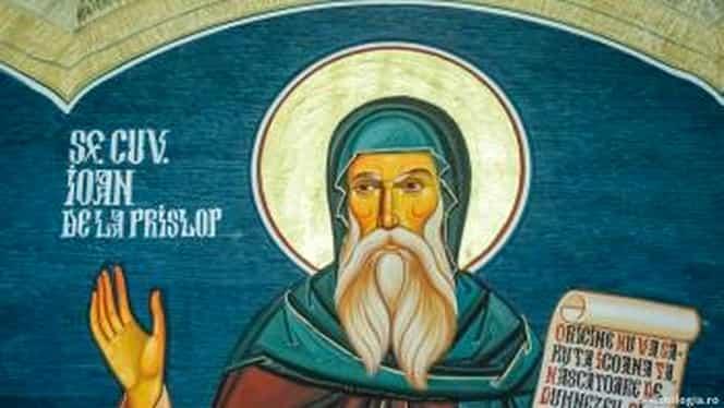 Calendar ortodox, 13 septembrie. Sfântul Ioan de la Prislop