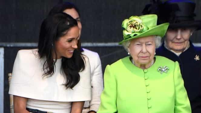 Meghan Markle s-a panicat total, la prima ieșire în public alături de Regină!