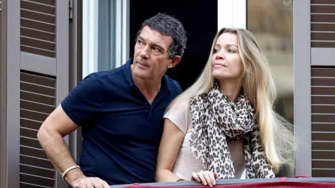 GALERIE FOTO. Antonio Banderas a regăsit dragostea. Cum arată noua lui iubită, cu 20 de ani mai tînără