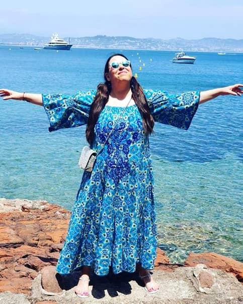 Oana Roman s-a întâlnit cu prietenele sale care locuiesc pe Coasta de Azur