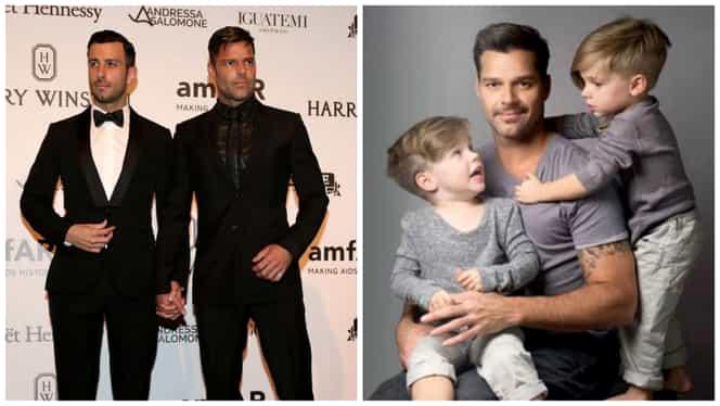 """Ricky Martin, despre copiii săi: """"Sper ca băieții mei să fie gay"""""""