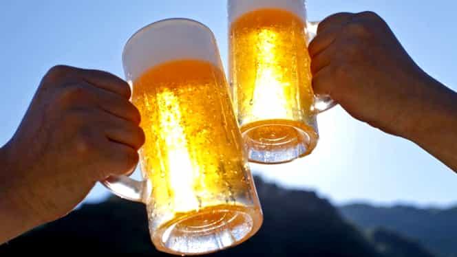 Două halbe de bere sunt mai eficiente decât paracetamolul!