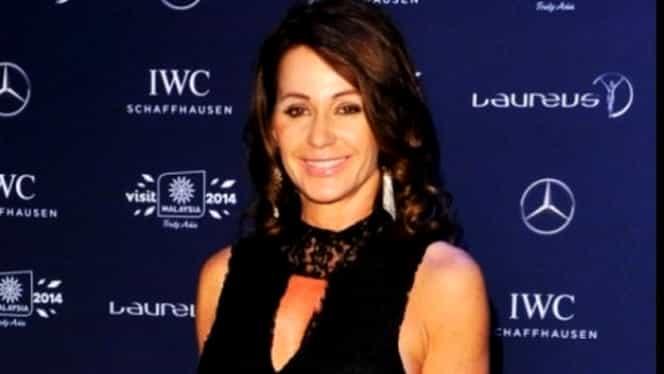 VIDEO. Celebră actriţă de la Hollywood, în GENUNCHI în faţa Nadiei Comăneci la Globurile de Aur