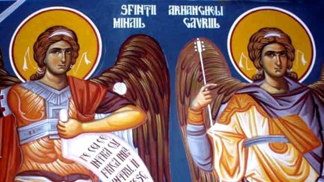 Ce e bine să dai de pomană de Sfinţii Mihail şi Gavriil! Nu ai voie să munceşti în această zi