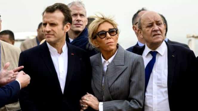 Brigitte Macron, ținută nepotrivită în timpul vizitei în Egipt! Cu ce s-a încălțat Prima Doamnă a Franței