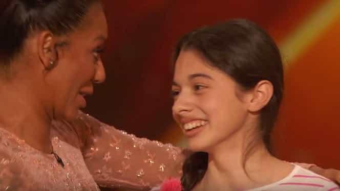 """VIDEO. Prestaţie incredibilă! O româncă de 13 ani, direct în semifinalele """"America's Got Talent"""""""